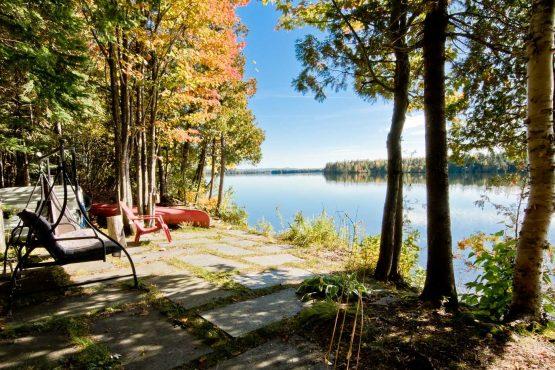 maison a vendre lac drolet
